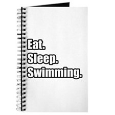 """Eat. Sleep. Swimming."" Journal"