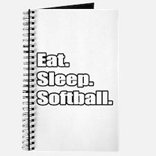 """Eat. Sleep. Softball."" Journal"
