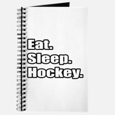 """Eat. Sleep. Hockey."" Journal"