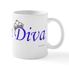 Tea Diva - Blue Mug