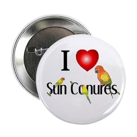 Sun Conure Button