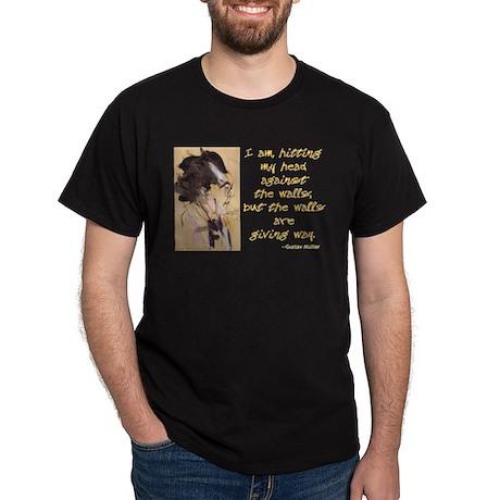 Gustav Mahler-Hitting My Head Dark T-Shirt
