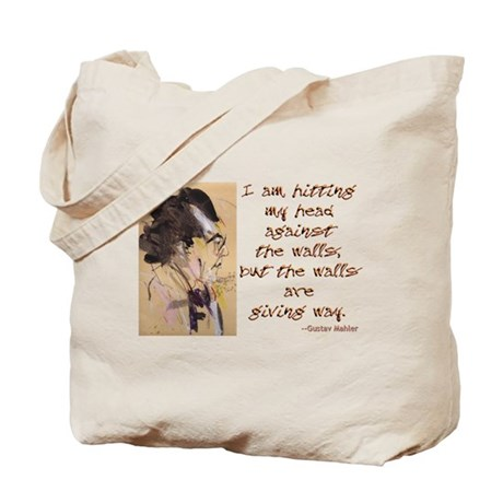 Gustav Mahler-Hitting My Head Tote Bag
