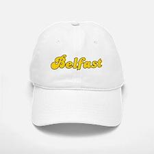 Retro Belfast (Gold) Baseball Baseball Cap