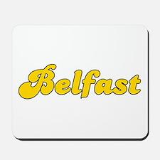 Retro Belfast (Gold) Mousepad