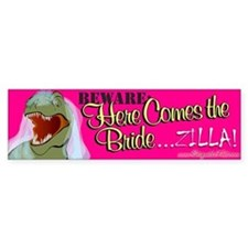 Here Comes the Bride... Bumper Bumper Sticker