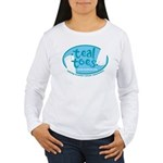 tealtoes Long Sleeve T-Shirt