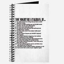 You Might Be A Taliban, If... Journal