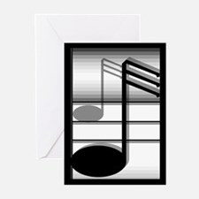 Music Note Greeting Cards (Pk of 10)