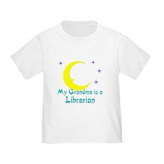 Grandma is a Librarian Toddler T-Shirt