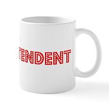 Retro Superintend.. (Red) Mug