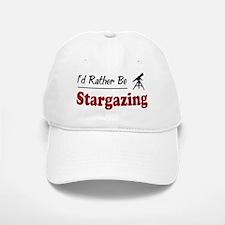 Rather Be Stargazing Baseball Baseball Cap