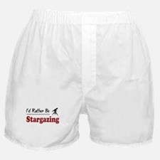 Rather Be Stargazing Boxer Shorts