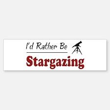 Rather Be Stargazing Bumper Sticker (10 pk)