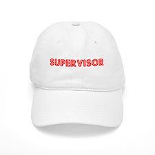 Retro Supervisor (Red) Baseball Cap