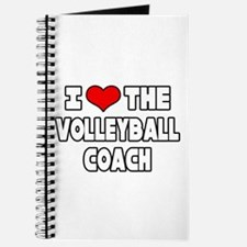 """""""I Love The Volleyball Coach"""" Journal"""