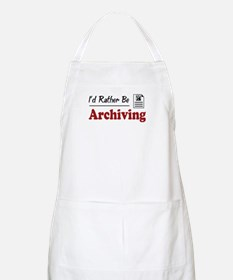 Rather Be Archiving BBQ Apron