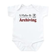 Rather Be Archiving Infant Bodysuit