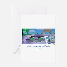 in Paris Greeting Card