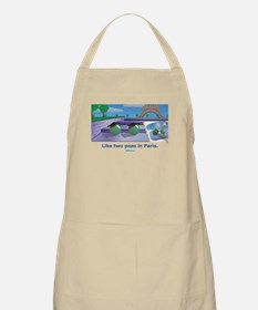 in Paris BBQ Apron
