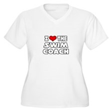 """I Love The Swim Coach"" T-Shirt"