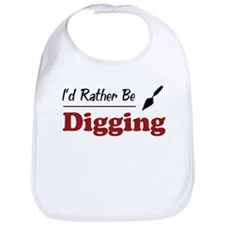 Rather Be Digging Bib