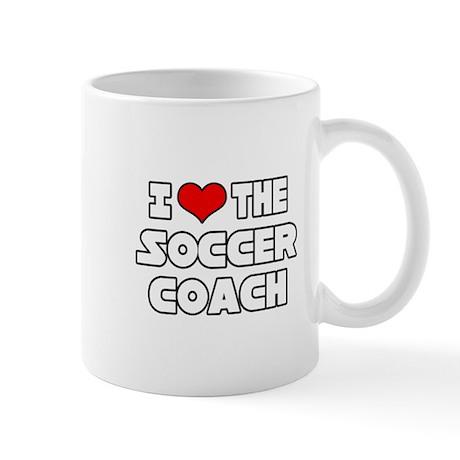 """I Love The Soccer Coach"" Mug"
