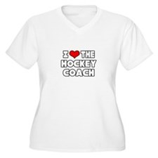 """I Love The Hockey Coach"" T-Shirt"