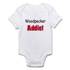 Woodpecker Addict Infant Bodysuit