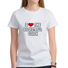 """I Love The Basketball Coach"" Tee"