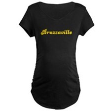 Retro Brazzaville (Gold) T-Shirt