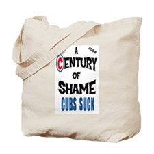 Cute Hate the cubs Tote Bag