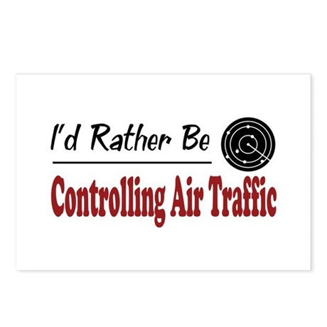 Rather Be Controlling Air Traffic Postcards (Packa