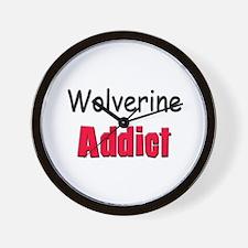 Wolverine Addict Wall Clock