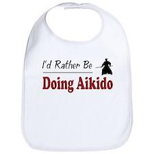Rather Be Doing Aikido Bib