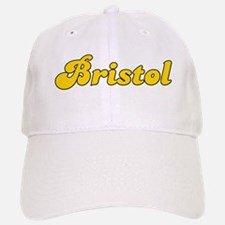Retro Bristol (Gold) Baseball Baseball Cap