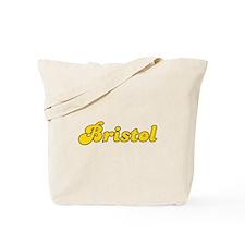 Retro Bristol (Gold) Tote Bag