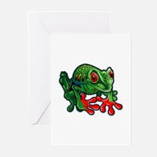 LG TREEFROG Greeting Cards (Pk of 20)