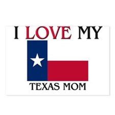 I Love My Texas Mom Postcards (Package of 8)