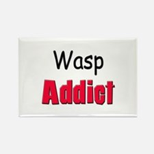 Wasp Addict Rectangle Magnet
