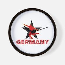 GERMANY EURO STARS Wall Clock