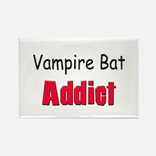 Vampire Bat Addict Rectangle Magnet
