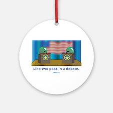 in a Debate Ornament (Round)