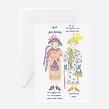 Unique Gas prices Greeting Card