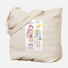 Cool Old lady Tote Bag