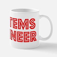 Retro Systems Eng.. (Red) Mug