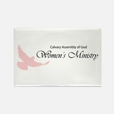 Cute Assembly of god Rectangle Magnet