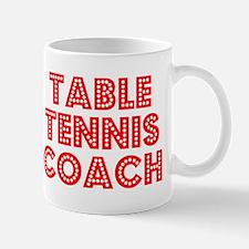 Retro Table Tenni.. (Red) Mug