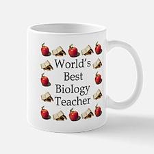 World's Best Biology Teacher Mug