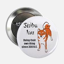 "Shiba 300 B.C. 2.25"" Button (100 pack)"